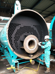 steam system boiler efficiency